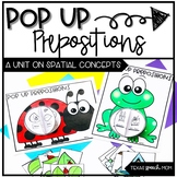 Pop Up Prepositions: Summer Speech & Language Therapy Craft