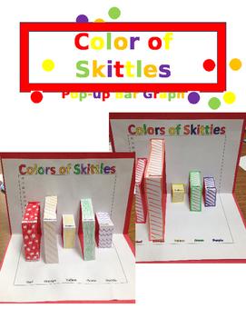 Skittles Pop-Up Bar Graph