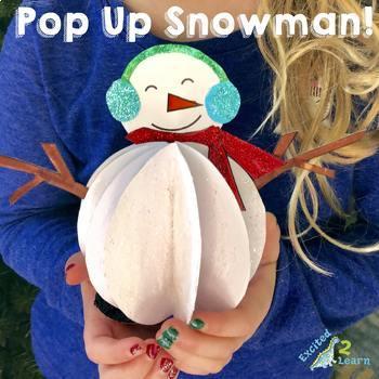Pop Up Snowman Craft!