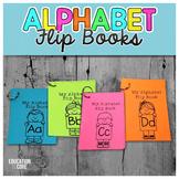 Alphabet Activities, Alphabet Flip Books