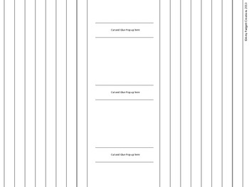 Pop-Up Templates for Books, Cards, and Projects!