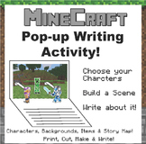 Minecraft Pop Up Writing Activity!