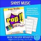 Pop Waltz   Pop With Music   Sheet Music   Unlimited Studi