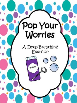 Pop Your Worries Counseling Lesson