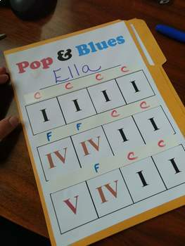 Pop and Blues: Chord Lap Book