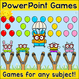 Review Game for Any Subject - Test Prep Smart Board Activity
