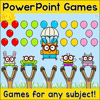 Review Game for Any Subject - Back to School Smartboard Game