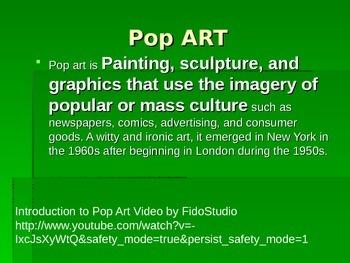 Pop art and Visual Puns