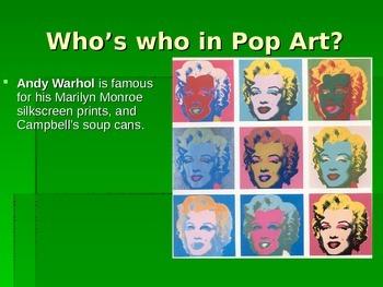 Pop art and Visual Puns