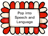 Pop into Speech and Language decor