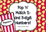 Pop 'n' Match 2 and 3 Digit Number Practice
