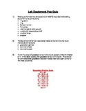 Pop quizzes for chemistry students!