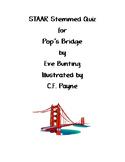Pop's Bridge STAAR Stemmed Quiz