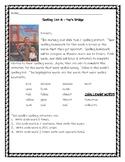 Pop's Bridge Spelling Activities Journeys 3rd Grade Lesson 4