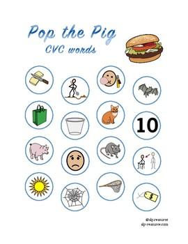 Pop the Pig CVC Bundle #1