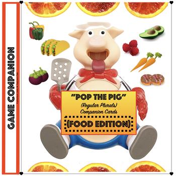 Pop the Pig - Food Vocabulary