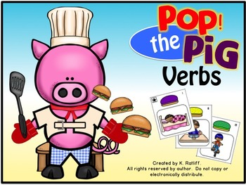 Pop the Pig Game Companion: Verbs