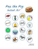 Pop the Pig initial /b/ articulation