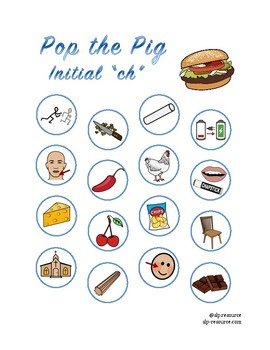 "Pop the Pig initial ""ch"" articulation"