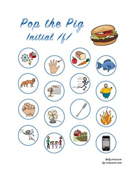 Pop the Pig initial /f/ articulation