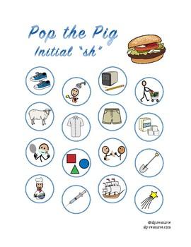 "Pop the Pig initial ""sh"" articulation"