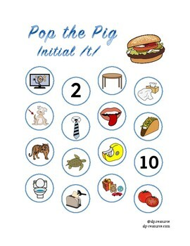 Pop the Pig initial /t/ articulation