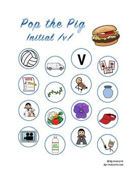 Pop the Pig initial /v/ articulation