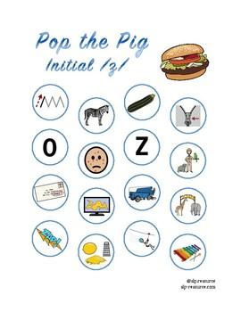 "Pop the Pig initial ""z"" articulation"