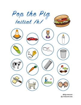 Pop the Pig initial /k/ articulation