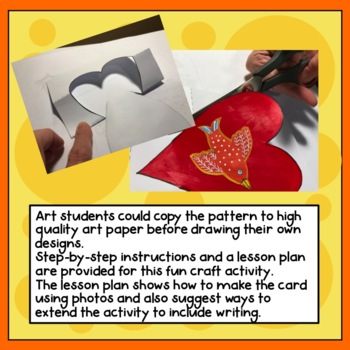 Pop-up Heart Card craft activity