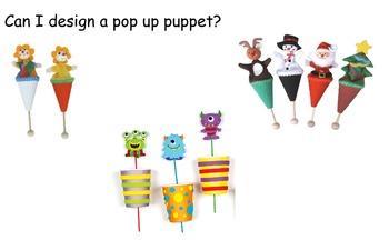Pop up puppets slides and design