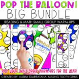 Pop The Balloon! The BIG Bundle