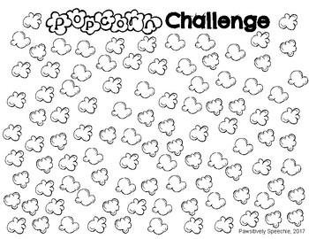 Popcorn 100 Challenge