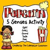 Popcorn 5 Senses Activity