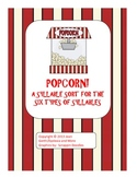 Popcorn!  A Syllable Sort for the Six Types of Syllables