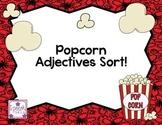 Popcorn Adjective Sort!