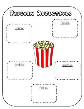 Popcorn Adjectives!