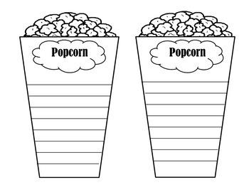 Popcorn Adjectives
