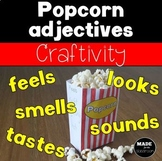 Popcorn Adjectives Mini Boxes Craftivity
