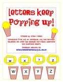 Popcorn Alphabet Match