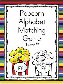 Popcorn Alphabet Matching Ff