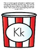 Popcorn Alphabet Matching Kk