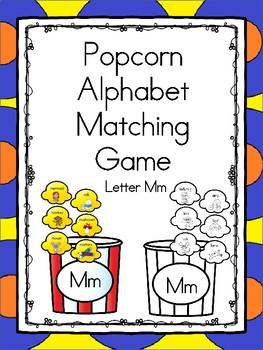 Popcorn Alphabet Matching Mm