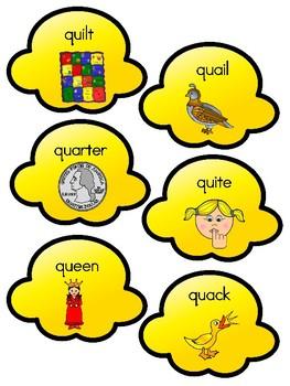 Popcorn Alphabet Matching Qq
