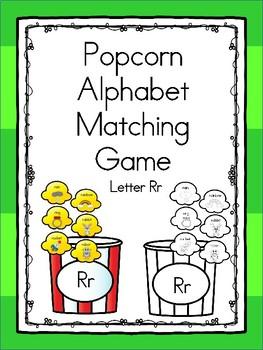Popcorn Alphabet Matching Rr
