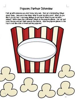 Popcorn Back to School Unit Christian Classroom!