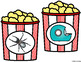 Popcorn Centers Beginning Sounds Carnival Circus Movie Lit