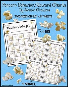 Popcorn Behavior /Reward Charts