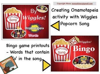 Popcorn Book Activities
