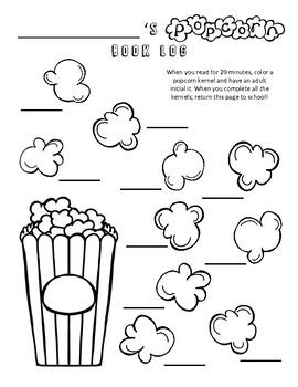 Popcorn Book Log